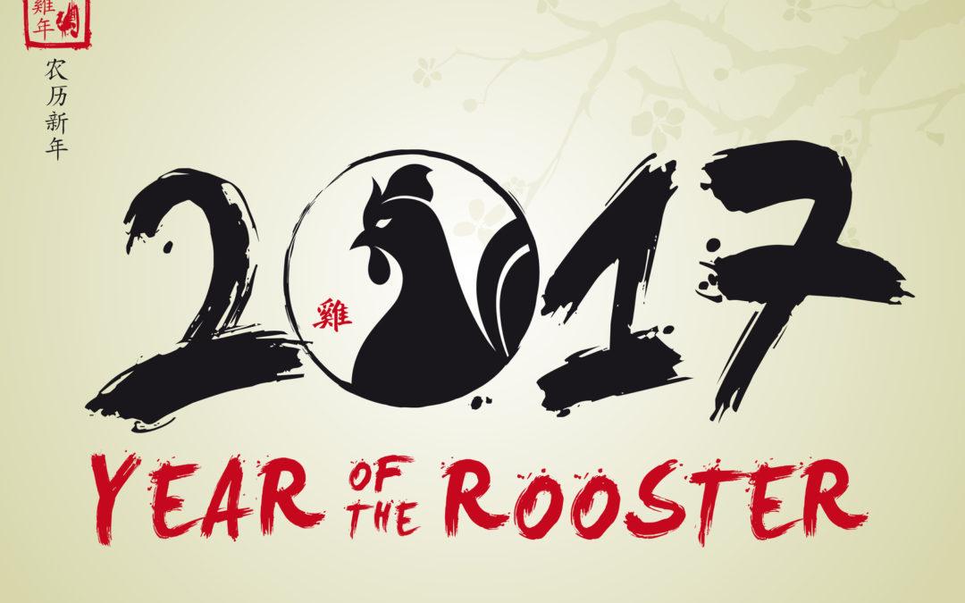Vorschau auf 2017… das Jahr des Feuer-Hahns